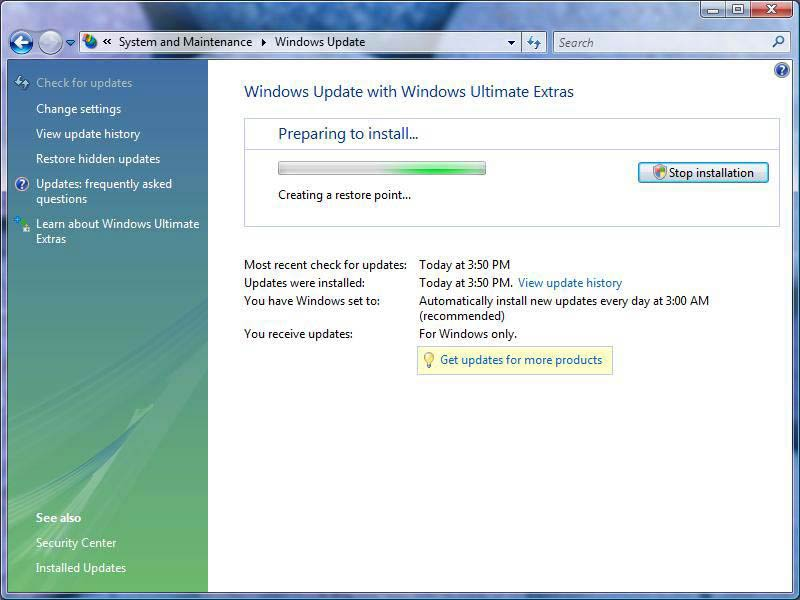 Windows Vista - Screenshot 7