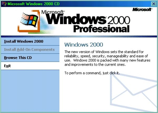 Windows 2000 - Screenshot 1