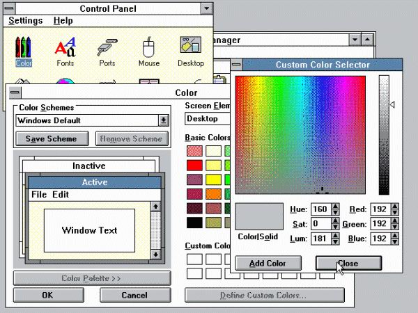 Windows 3.0 - Screenshot 3