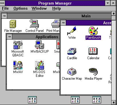 Windows 3.1 - Screenshot 4