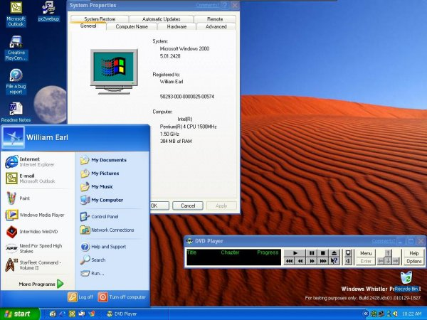 Windows XP - Screenshot 1
