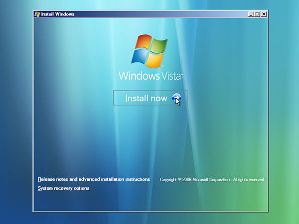 Windows Vista - Screenshot 1
